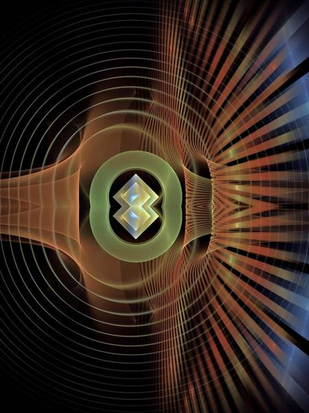 Psychiatrist Digital Art - Dynamic-range-1-left-panel by Bill Campitelle
