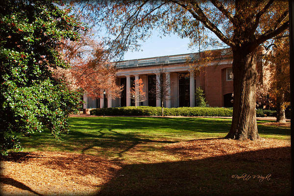 Photograph - E H Little Library - Davidson College by Paulette B Wright