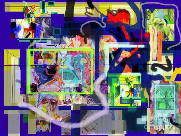 Realization Digital Art - Each Positive Step Is Vital 10 by David Baruch Wolk
