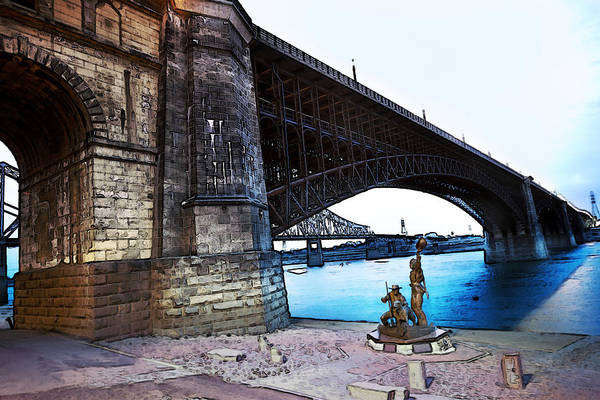 Photograph - Eads Bridge 2 by David Coblitz