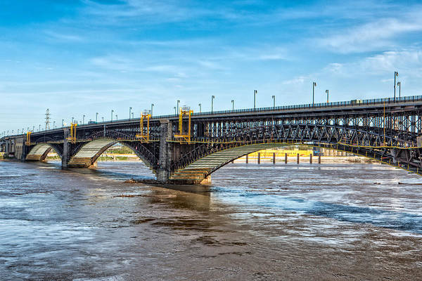 Photograph - Eads Bridge by Robert FERD Frank