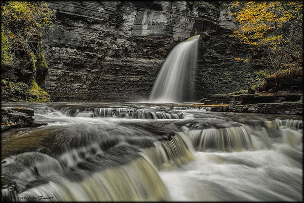 Photograph - Eagle Cliff Falls by Erika Fawcett