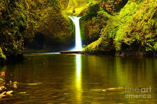 Photograph - Eagle Creek Punchbowl by Adam Jewell