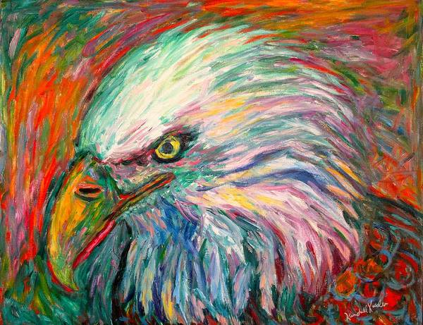 Painting - Eagle Fire by Kendall Kessler