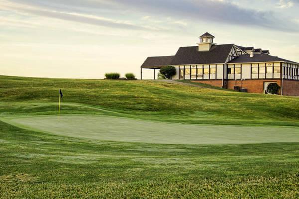Photograph - Eagle Knoll Golf Club - Hole Eighteen by Cricket Hackmann