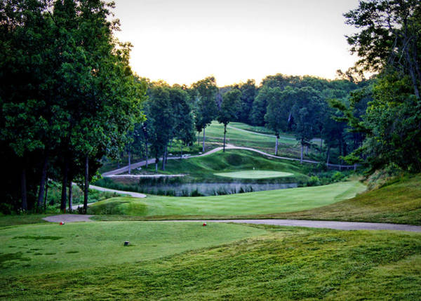 Photograph - Eagle Knoll - Hole Fourteen From The Tees by Cricket Hackmann
