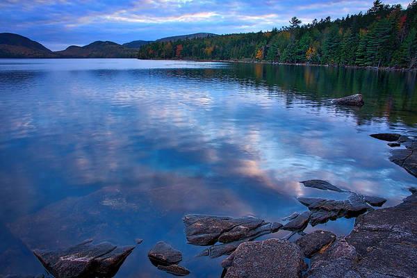 Photograph - Eagle Lake At Dusk - Maine by Stuart Litoff