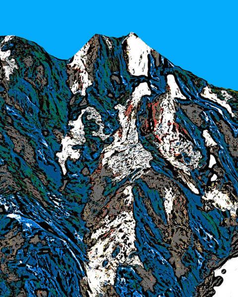 Wall Art - Digital Art - Eagle Mountain - Colorado by David G Paul