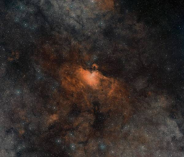 Ir Photograph - Eagle Nebula by Digitized Sky Survey 2/davide De Martin/european Southern Observatory/science Photo Library