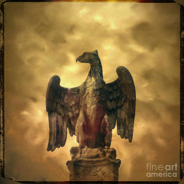 Wall Art - Photograph - Eagle Sculpture by Bernard Jaubert