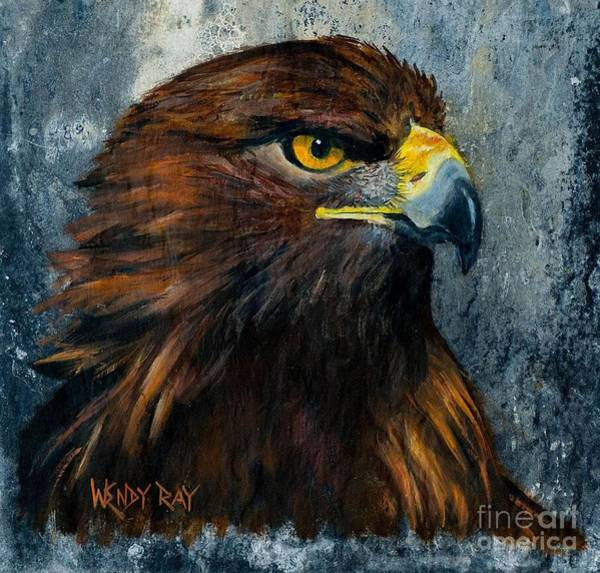 Painting - Eagle by Wendy Ray