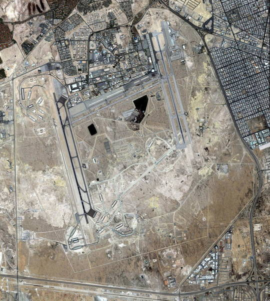 Airbase Photograph - Eagletown by Geoeye/science Photo Library