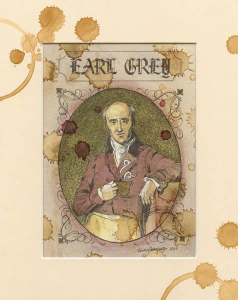 Novelties Painting - Earl Grey by Lena Quagliato
