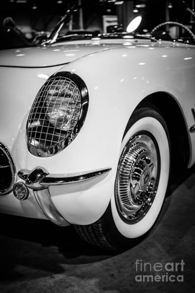 Sportscar Photograph - Early 1950's Chevrolet Corvette by Paul Velgos