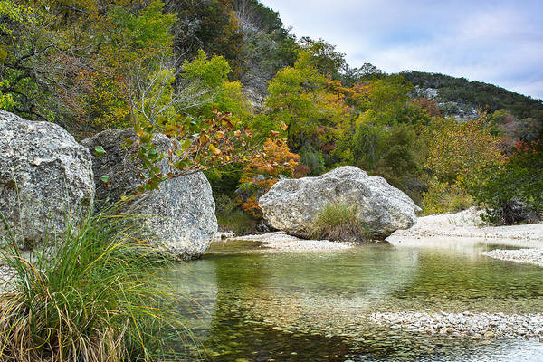 Wall Art - Photograph - Early Autumn In Texas Hill Country by Ellie Teramoto
