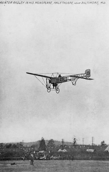 Photograph - Early Aviation, 1910 by M.e. Warren