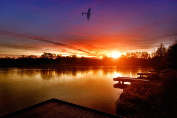 Flyby Photograph - Early Bird by Jason Green