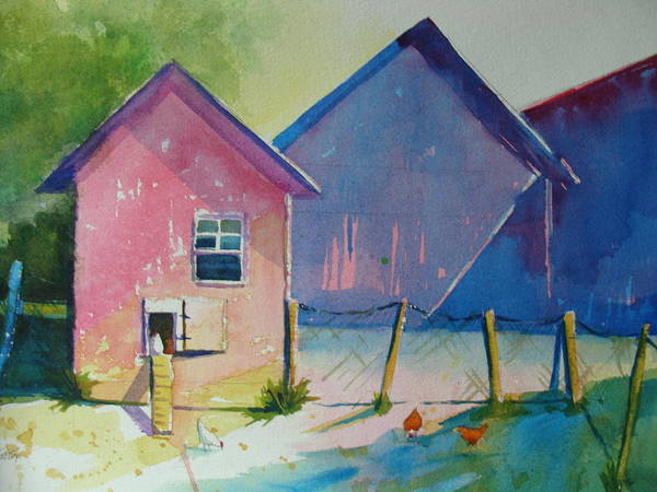 Painting - Early Birds by Judy Fischer Walton