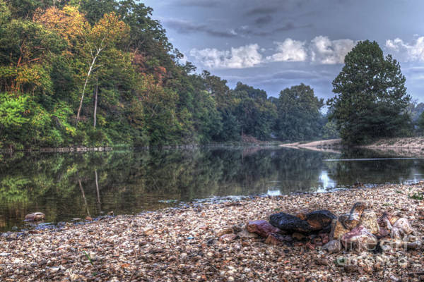 Riverway Photograph - Early Fall On The Jack's Fork by Larry Braun