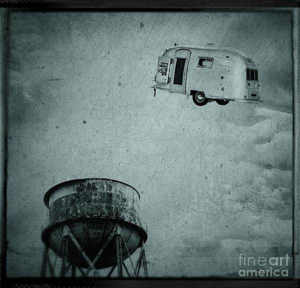 Photograph - Early Historic Airstream Flight by Edward Fielding