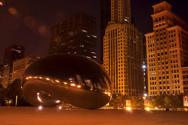Photograph - Early Hours In Chicago by Miguel Winterpacht
