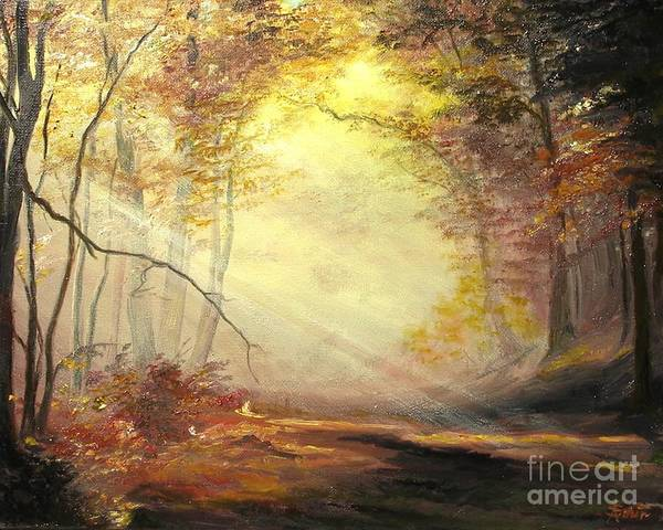 Painting - Early In The Morning by Sorin Apostolescu