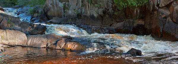 Photograph - Early Light At Lower Dave's Falls by Theo OConnor