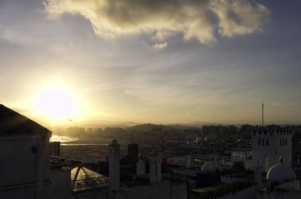 Photograph - Early  Light Over Tangier by Nisah Cheatham