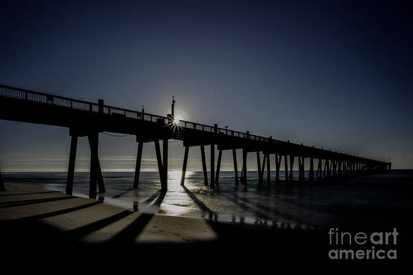 Photograph - Early Monring At The Pier by Dan Friend