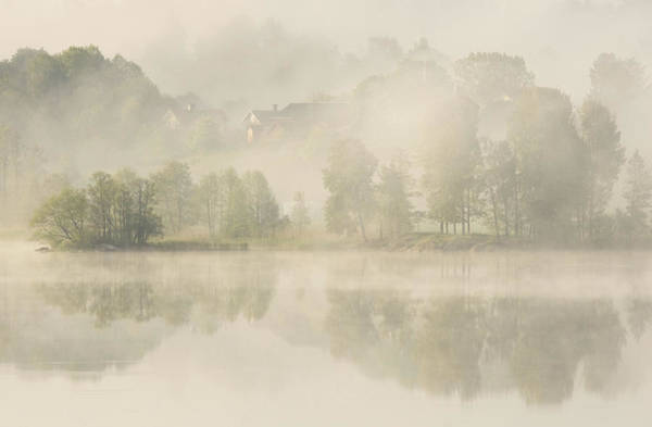 Foggy Photograph - Early Morning. by Allan Wallberg
