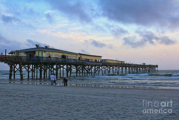 Photograph - Early Morning At Sun Glow Pier by Deborah Benoit