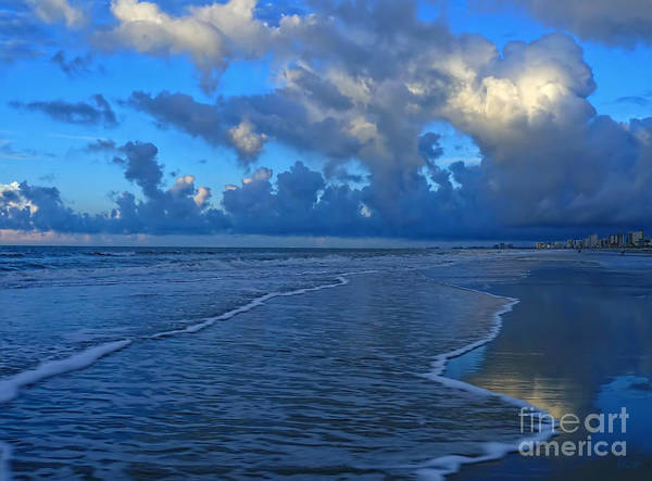Photograph - Early Morning Blues by Jeff Breiman