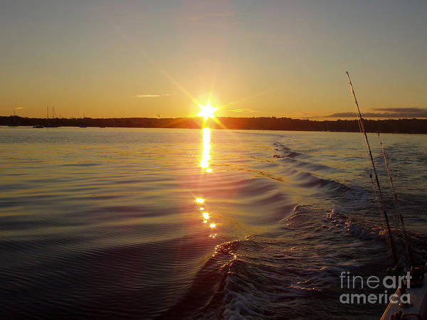 Canon Rebel Photograph - Early Morning Fishing by John Telfer