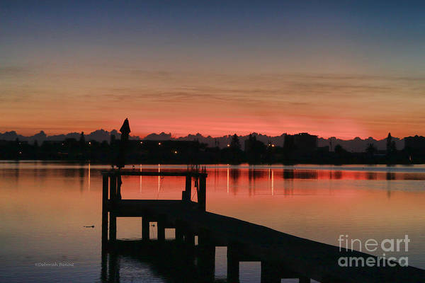 Photograph - Early Morning From The Pier by Deborah Benoit