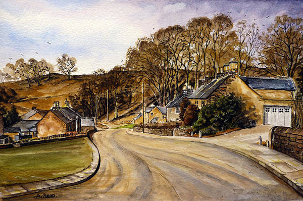 Wall Art - Painting - Early Morning In The Countryside by Andrew Read