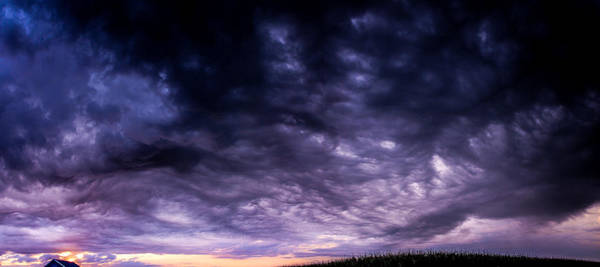 Photograph - Early Morning Nebraska Thunderstorms by NebraskaSC