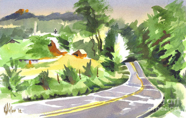 Painting - Early Morning Out Route Jj by Kip DeVore