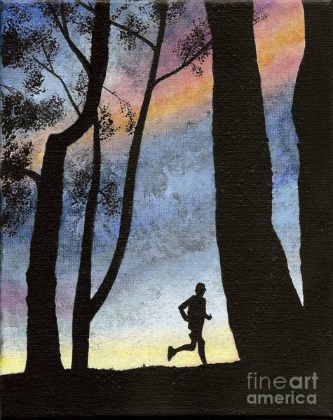 Painting - Early Morning Run by Mary Scott