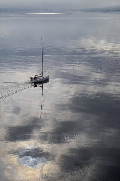 Photograph - Early Morning Sail by Lucinda Walter