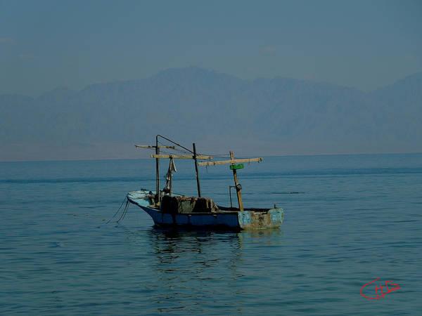 Photograph - Early Morning Swim Taraben Beach Sinai Egypt by Colette V Hera  Guggenheim