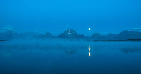 Photograph - Early Morning Tetons by Brenda Jacobs