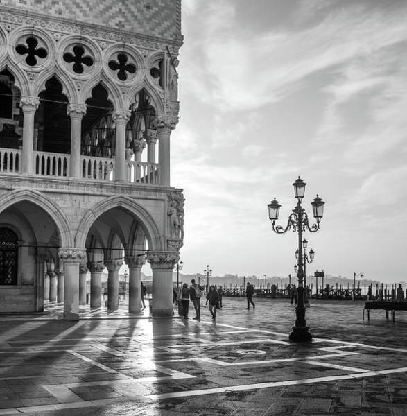 Snape Wall Art - Photograph - Early Morning - Venice by Nigel Snape