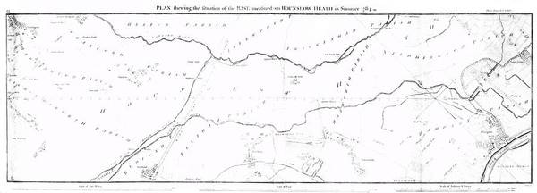 Heath Photograph - Early Ordnance Survey Baseline by Royal Astronomical Society/science Photo Library