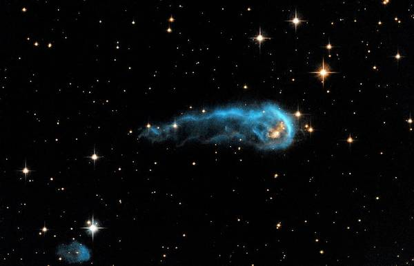 Hubble Telescope Photograph - Early Protostar by Nasa/esa/hubble Heritage Team/stsci/aura/science Photo Library