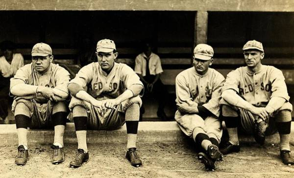 Wall Art - Photograph - Early Red Sox by Benjamin Yeager