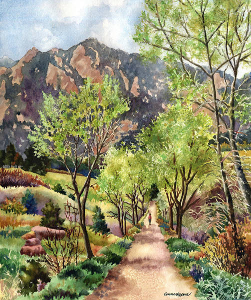 Wall Art - Painting - Early Spring by Anne Gifford