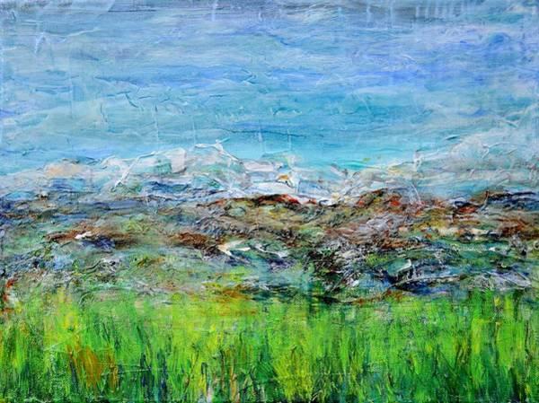 Painting - Early Spring Range by Regina Valluzzi