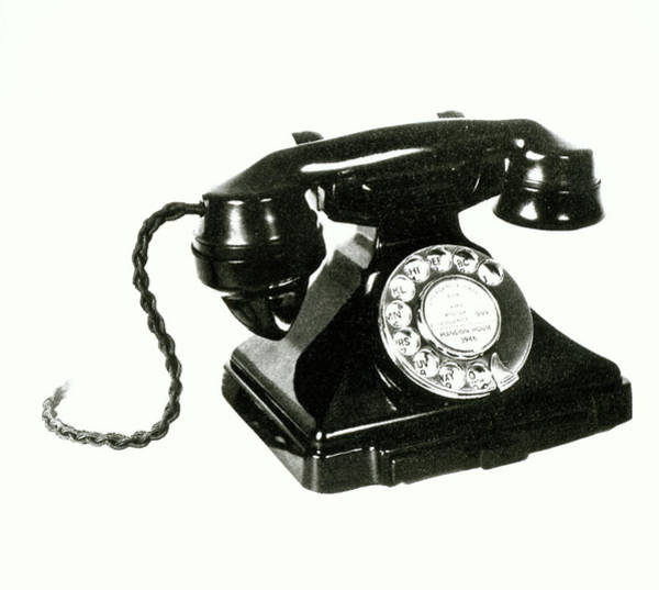 Wall Art - Photograph - Early Telephone by Science Photo Library