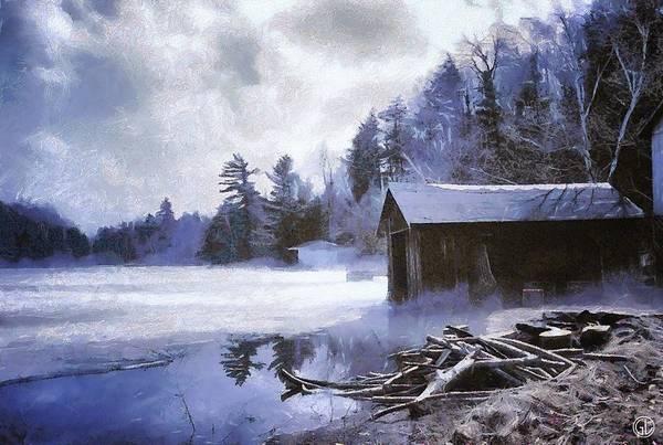 Wall Art - Digital Art - Early Winter Morning by Gun Legler