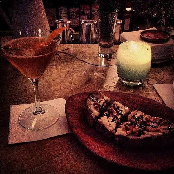 Martini Wall Art - Photograph - #earlygrey #martini #gorgonzola by Adam Way